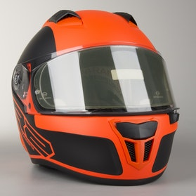 Schuberth SR2 Traction Orange Helmet