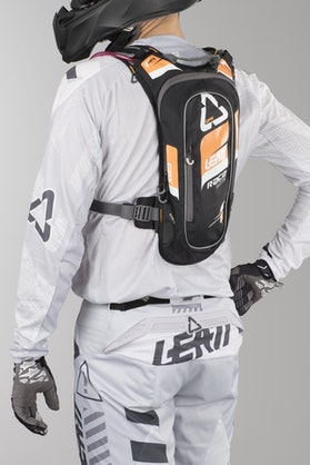 Leatt GPX Race HF 2.0 Hydration System Orange-Black