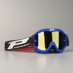 ProGrip 3101 Youth Cross-Goggles Double Lens - Blue