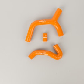 TWENTY Silicone Radiator Hose Kit Orange
