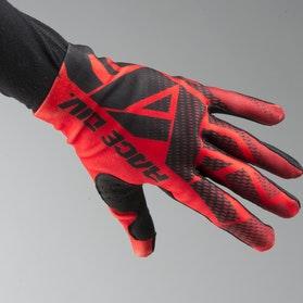 Rękawice Cross FXR Slip On Lite Czerwone-Czarne