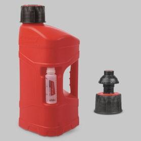 Benzindunk Polisport ProOctane Utility 10L & 100ml Mixer, Klar/Rød