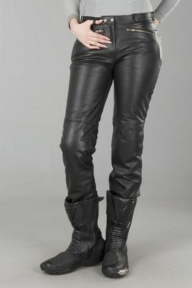 Spodnie skórzane Segura Emma Damskie Czarne