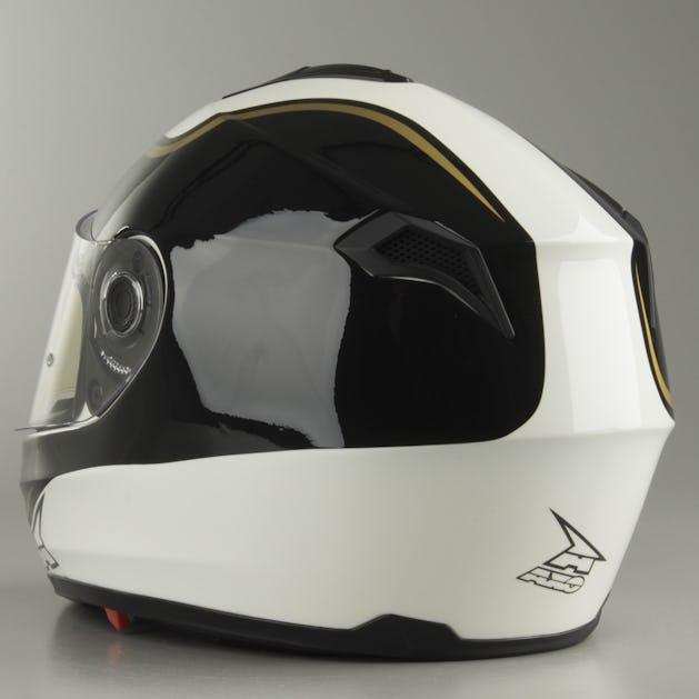 d9b210c7 AXO Corsair Integral Helmet - White-Black - Get 20% off today ...