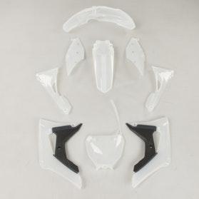 Komplet Plastików Polisport Honda Transparentne