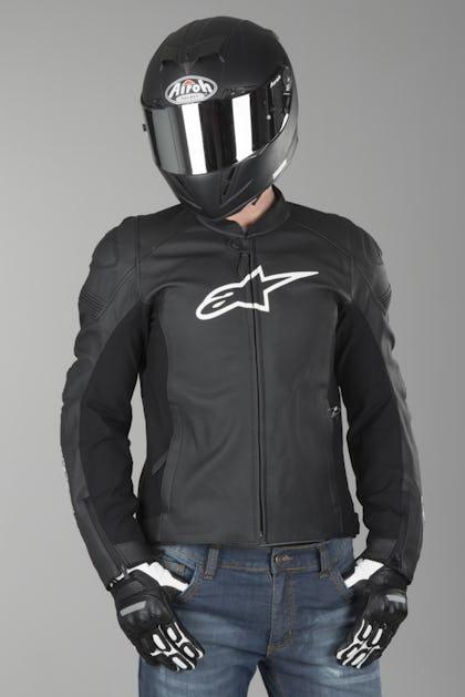Alpinestars Leather Jacket >> Alpinestars Sp 1 Leather Jacket Black Red Get 35 Off Today