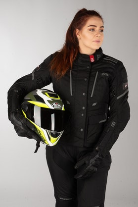 IXS Tour Powells-ST Women's Jacket Black