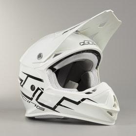 Crossová Helma JT Racing Prime Bílá