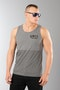 Unit Concealed Tank Top Grey