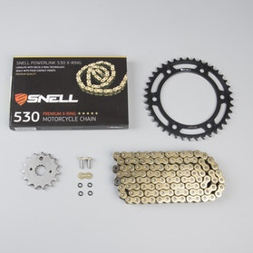 Snell & Snell Powerlink 530 X-Ring Chain & Sprocket Set