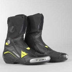 Buty Motocyklowe Dainese Axial D1 Czarno-Fluo Żółte