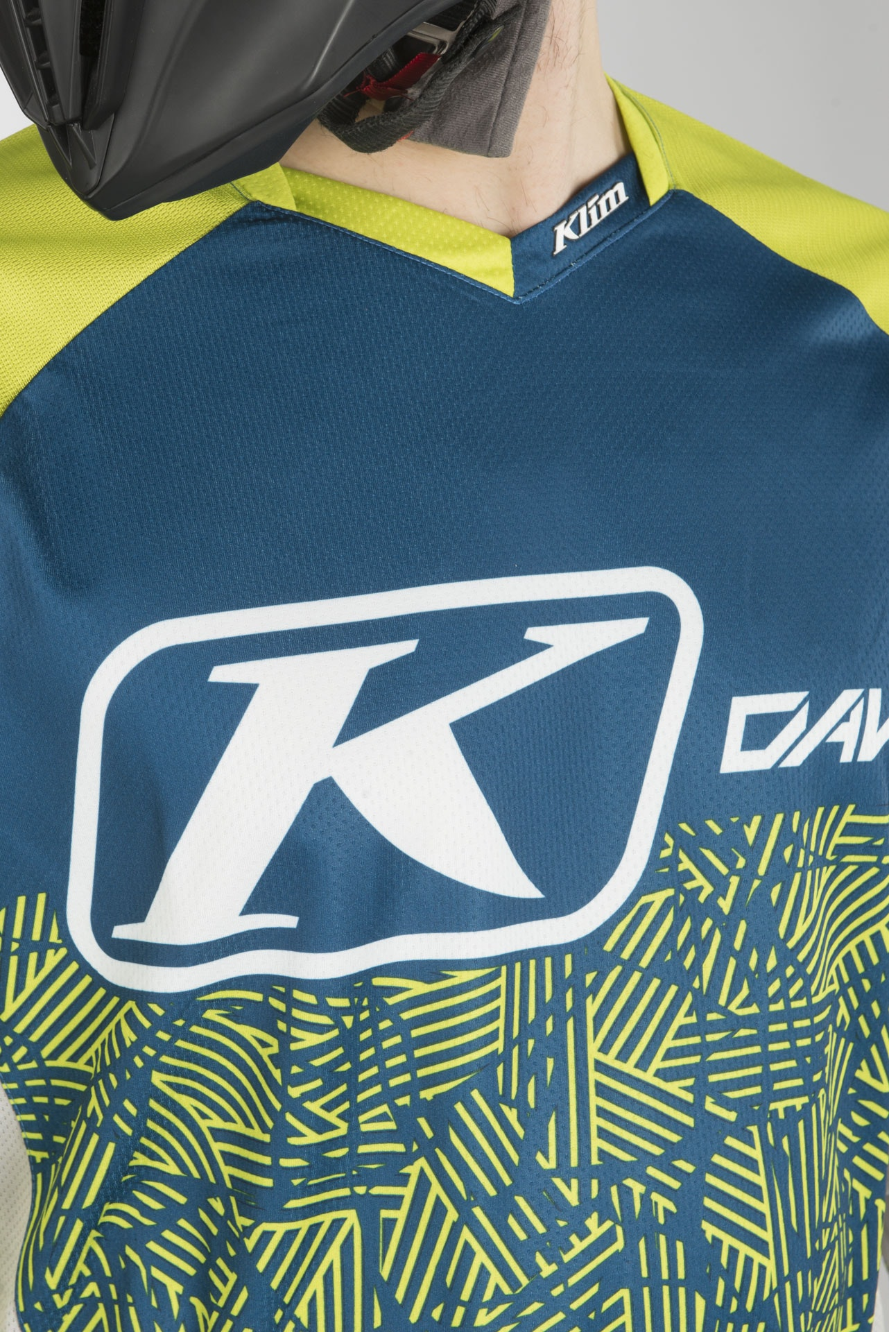 KLIM Dakar Jersey 2X Lime Blue