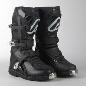Crossstøvler Acerbis X-Kid Junior, Sort