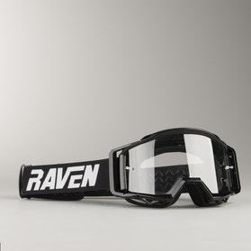 Gogle Cross Raven Sniper Crew Czarno-Przezroczyste