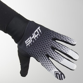 Shot MX Gloves Black-White