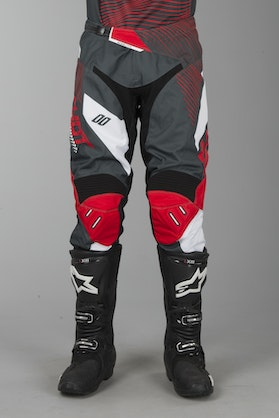 Shot Aerolite Optica MX-Trousers Grey-Red