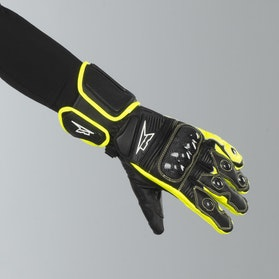 AXO KK4R HT Gloves Black-Yellow