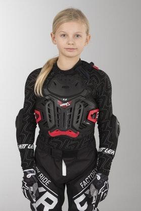 Leatt 4.5 Junior Kid's Protection Jacket Black