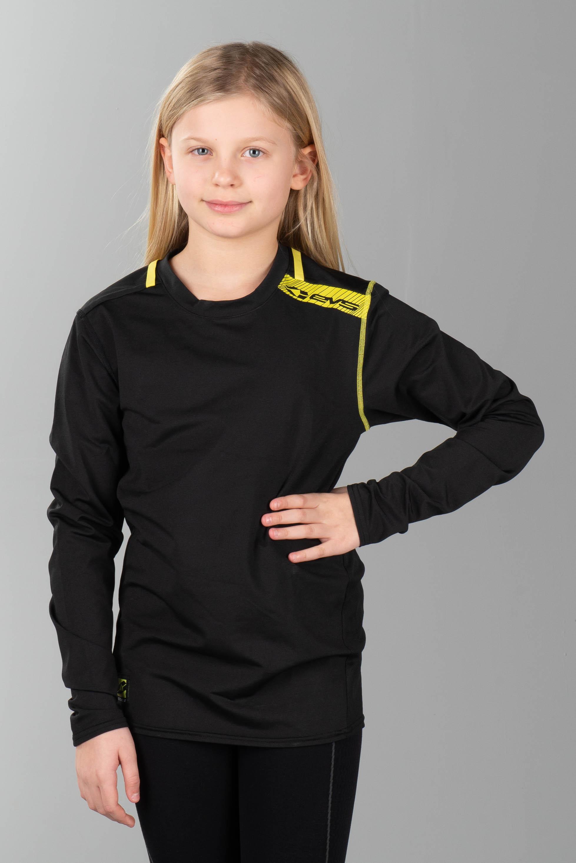 EVS Sports Unisex-Child Tug Top No Sleeve Black Small