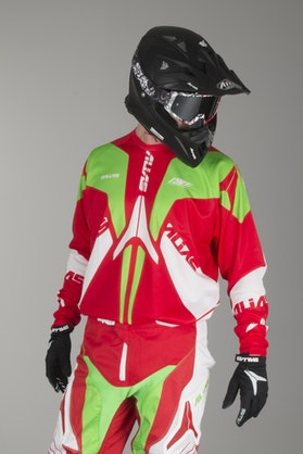 Alias A1 Jersey Neon-Green-Red