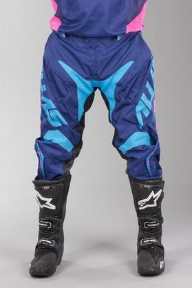 Alias A1 MX Trousers Marine Blue-Cyan