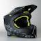 Motokrosová helma Scott 550 MX Helmet Camo ECE Černo-Žlutá