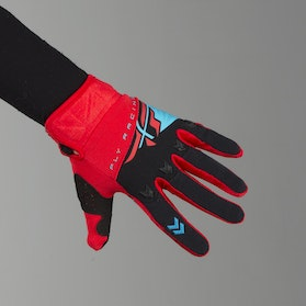 FLY F-16 MX Gloves Red-Black