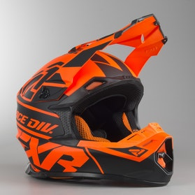 FXR Blade 2.0 Race Div MX Helmet Black-Flo Orange