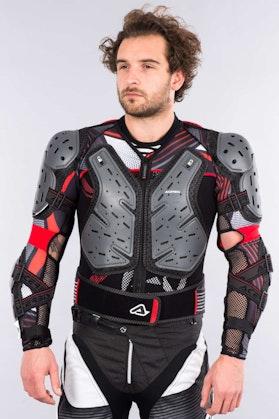 Acerbis Koerta 2.0 Protective Jacket - Black & Grey