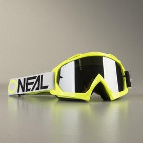 O'Neal B 10 TwoFace MX Goggles HiViz Black & White