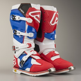 Acerbis X-Rock Boots Red-Blue