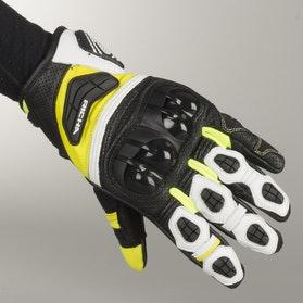 Rękawice Richa Sealth II Czarno-Biało-Fluorescencyjno Żółte