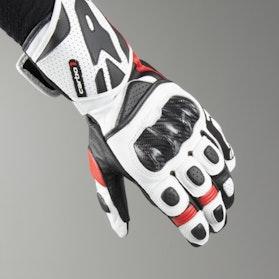 Rękawice Spidi Carbo 1 Czarny-Czerwony