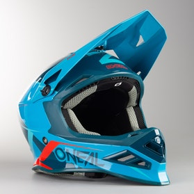 Kask Cross O'Neal 8-Series Blizzard Niebieski