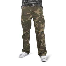 Bukse West Coast Choppers M 65 Cargo Camo Laveste
