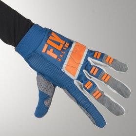 FLY Evo MX-Gloves - Navy-Grey-Orange