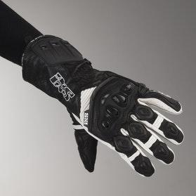Rękawice IXS RS-200 Czarny-Biały