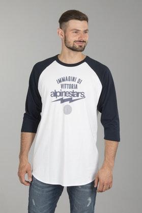 Alpinestars Team Spirit t-shirt, hvid/mørkeblå