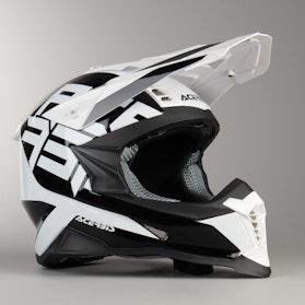 Acerbis X-Racer VRT MX Helmet Black-White