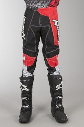 Spodnie Cross Upforce Czarno-Czerwone