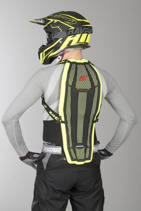 Zandona Esatech Pro x8 Back Protection High Visibility Black