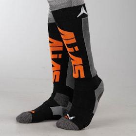 Ponožky Dětské Alias LYR8 Červené-Černé-Šedé