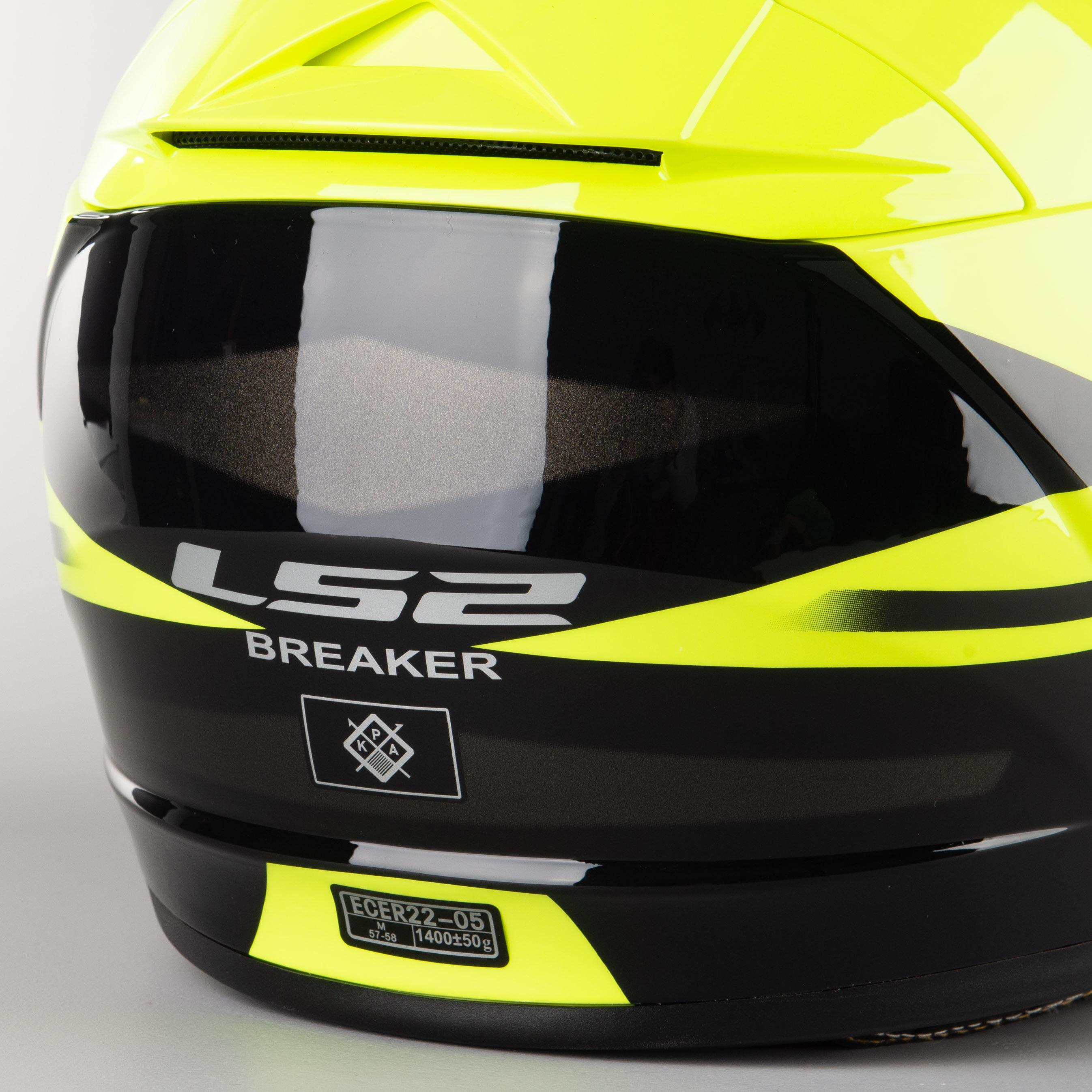 Casco LS2 Breaker FF390 Bold Hi Vis