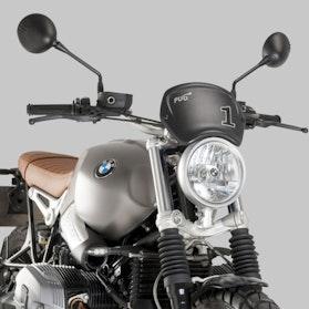 Tablica Przednia Puig BMW Czarny Mat