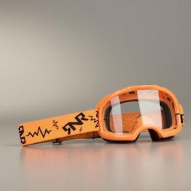 Gogle cross Rip 'n' Roll Colossus Neon Pomarańczowe