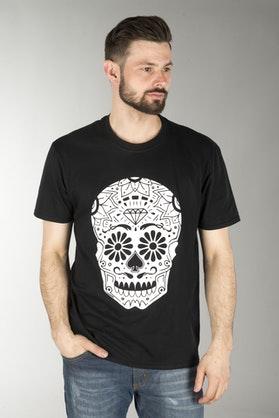 Course Sugarskull T-Shirt Black