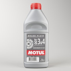 Motul DOT 3 & 4 Brake Fluid 1L