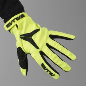 Alias AKA Solid Youth Motocross Gloves Neon Yellow