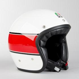 Kask Motocyklowy AGV X70 Biały Czarny