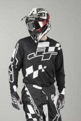 Bluza Cross JT Racing Hyperlite Checker Czarno-Biała